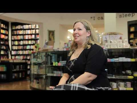 Ally Carter Interview at visits Books & Books in Grand Cayman