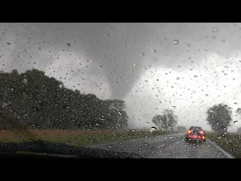 Tornado entre Ayacucho y Balcarce provincia de buenos aires