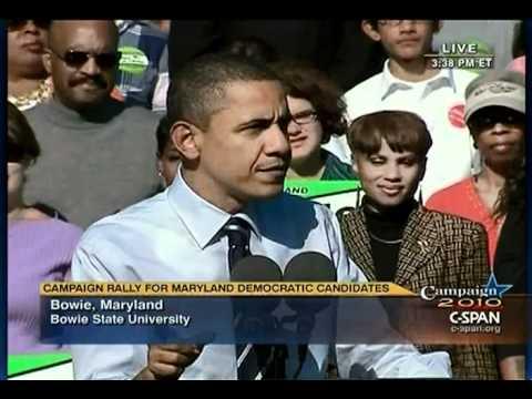 Pr. Obama - Bowie Maryland (2)