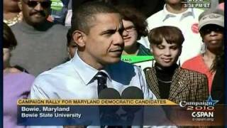 Pr. Obama - Bowie Maryland (2)