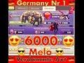 Melo 6000 / Gnadenlos / GERMANY NR 1 / Herzlichen Gw Bro / 3000 Abonnenten CW