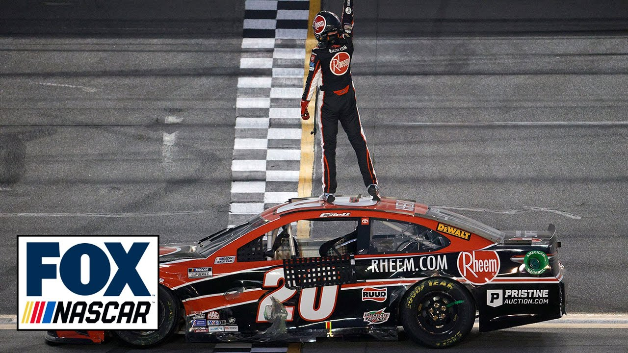 Christopher Bell races to 1st NASCAR Cup victory on Daytona road ...