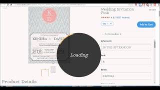 How to order Wedding Invitations on Zazzle