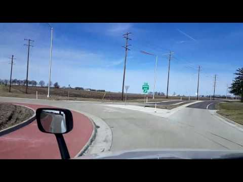 Bigrigtravels Live! - Hampshire to Aurora, Illinois - US Highway 47 - April 6, 2017