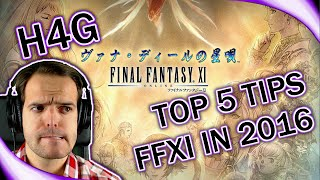Final Fantasy XI in 2016 - Top 5 Tips for Returning Players (1080p 30fps)