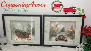 DOLLAR TREE GIFT BAG LIGHT UP FRAMES