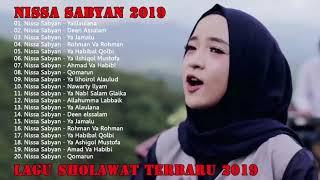 Gambar cover Sholawat Nisa Sabyan 2019 bikin Merinding Full album