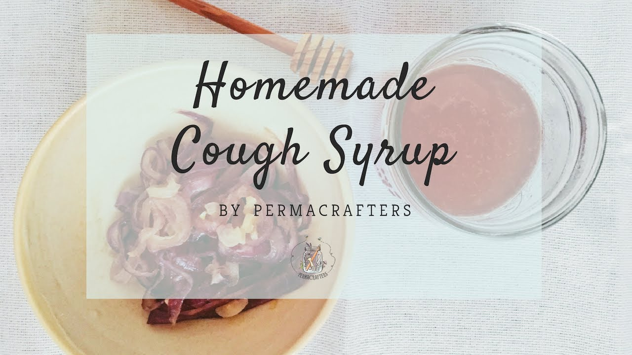 Homemade Cough Syrup 🍵 - YouTube