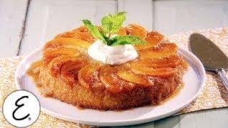 Sweet Peach Upside-down Cake - Emeril Lagasse