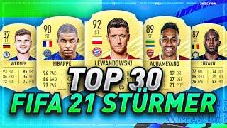 DIE BESTEN 30 STÜRMER in FIFA21 PREDICTION - FIFA 21 TOP 30 STÜRMER🔥🔥