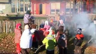 Ādažu Brīvā Valdorfa skola. Mārtiņi bērnudārzā. 2011.gada 10. novembris