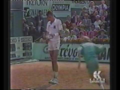 Michael Chang vs Ivan Lendl 1989 2/3