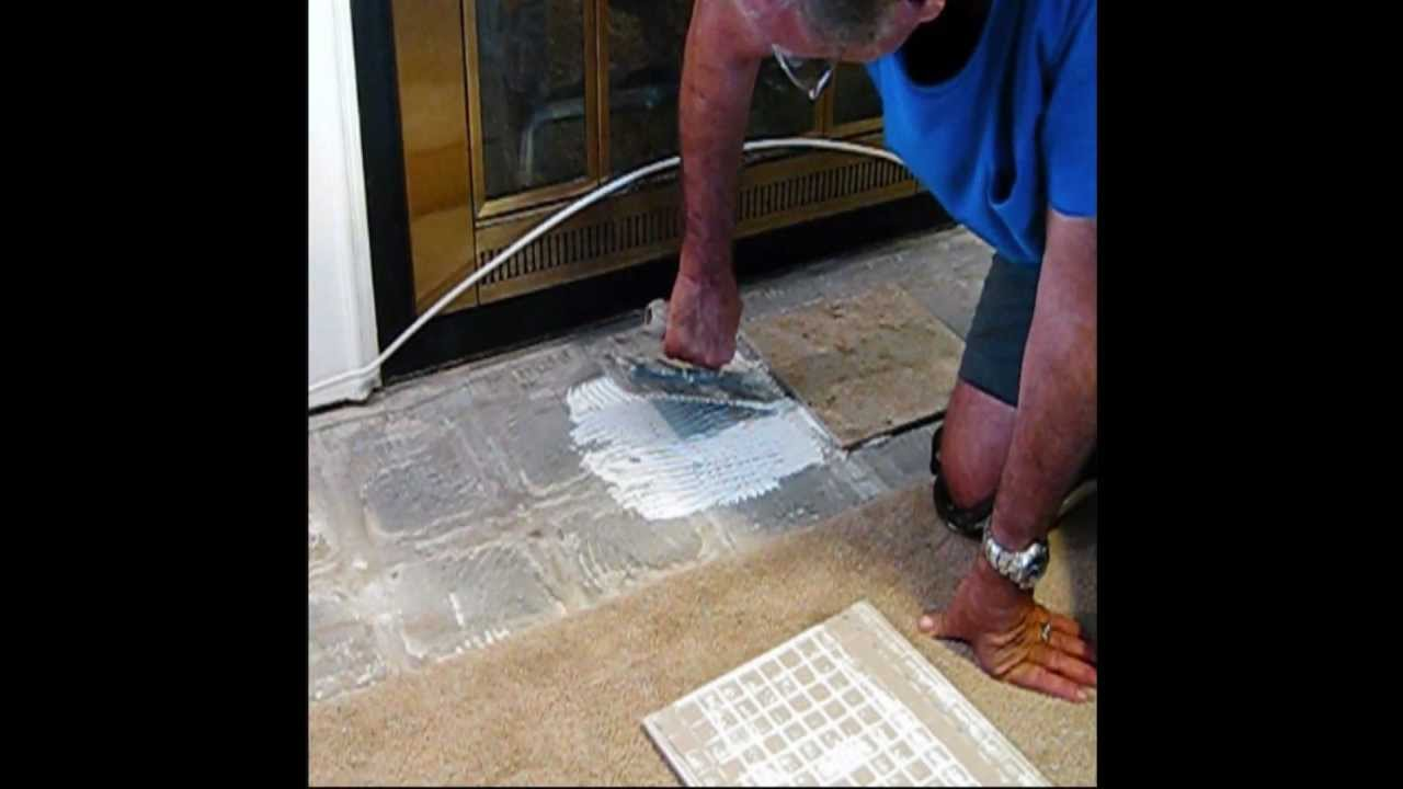 How To Tile A Floor The Easy Way Be Your Own Handyman Home