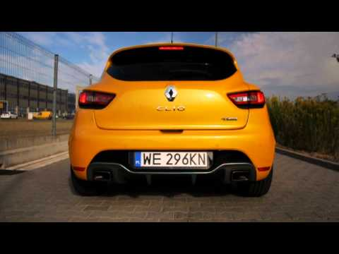 Renault CLIO R.S. TROPHY 220 EDC - Exhaust Sound, Start Up Sound, Launch Control, Revs