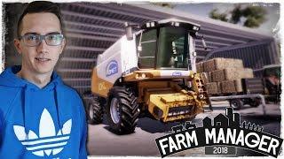 Farm Manager 2018 ✔ Własne Gospodarstwo #3  Kupno Używanego Kombajnu, Żniwa, Nowe Pola & Zadania
