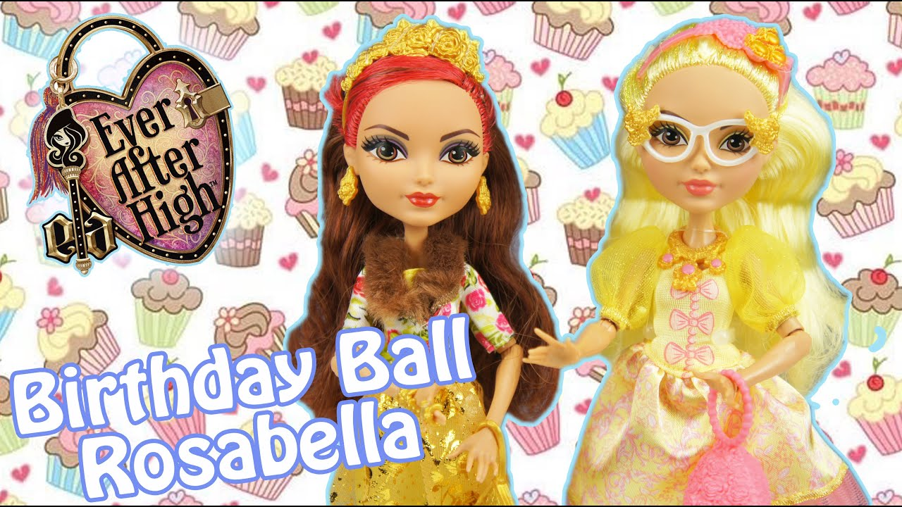 Ever After High Birthday Ball Rosabella Beauty Scented ...