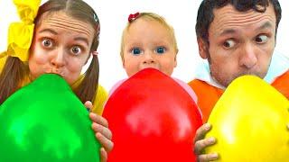 أغنية للأطفال من - أغنية البالون   Kids Song by Maya and Mary