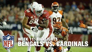 Bengals vs. Cardinals | Week 11 Highlights | NFL