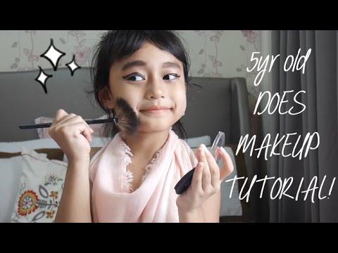 TODDLER TOOK OVER MY CHANNEL! Baby Girl Makeup Tutorial by Queenta Zedisha Avega