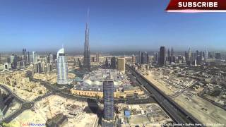 DJI Phantom 2 - Dubai Burj Khalifa & Dubai Mall flight (Dubai by air)