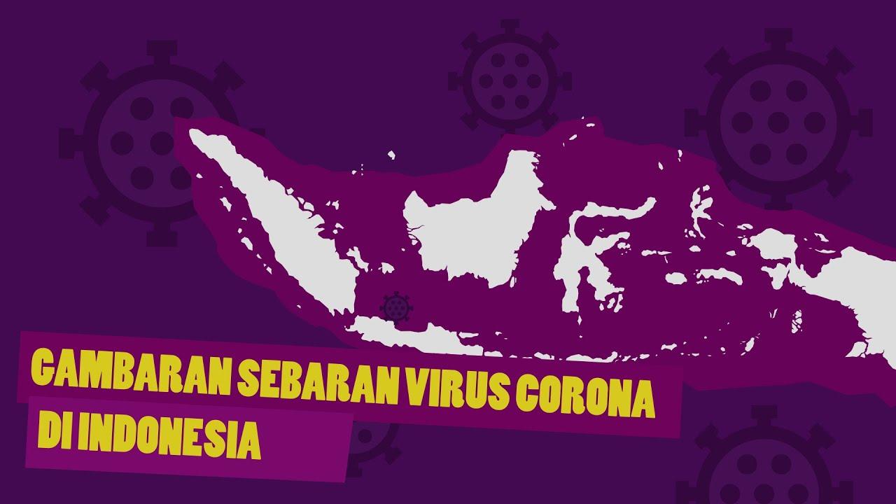 Gambaran Sebaran Kluster Covid-19 di Indonesia