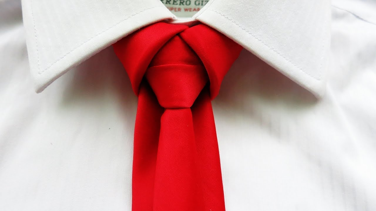 How to tie a tie like a BOSS !! Merovingian knot - YouTube