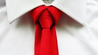 How to tie a tie like a BOSS !! Merovingian knot