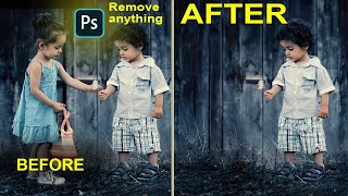 How to Remove anything in photosop hindi video