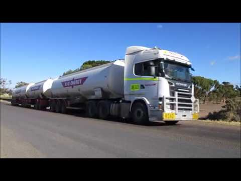 Road Trains in Port Augusta