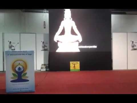 3rd International Day of Yoga at Muscat - Face Book Live