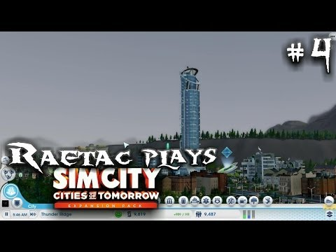 Simcity 5 Cities of Tomorrow, Part 4 Fireworks and Mansions