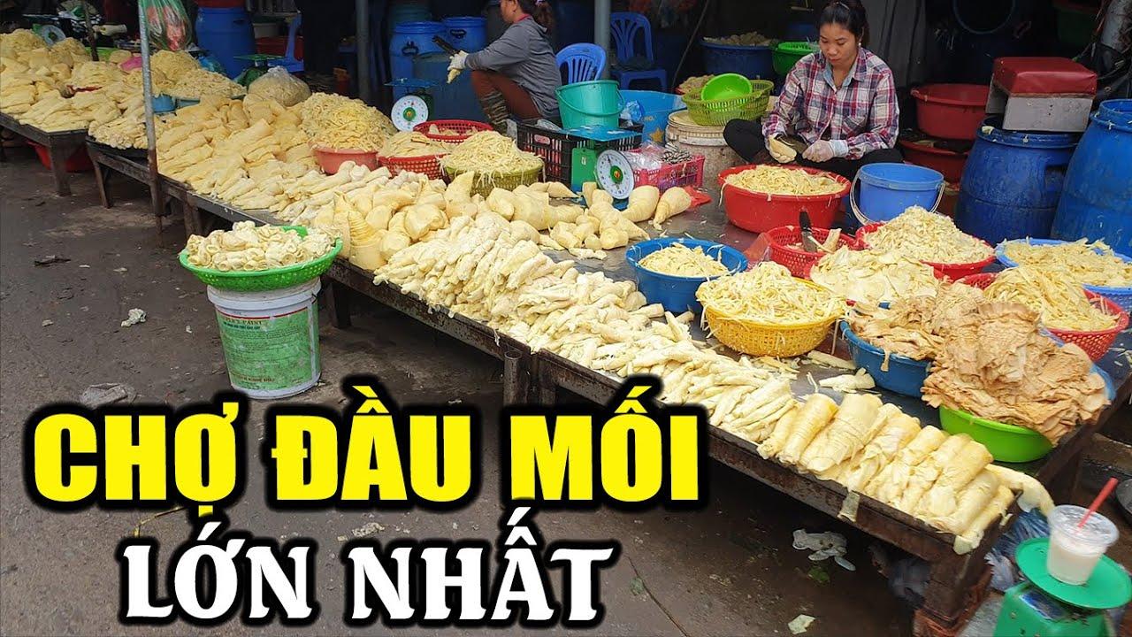 Chợ buôn nông sản lớn nhất Hà Nội có gì