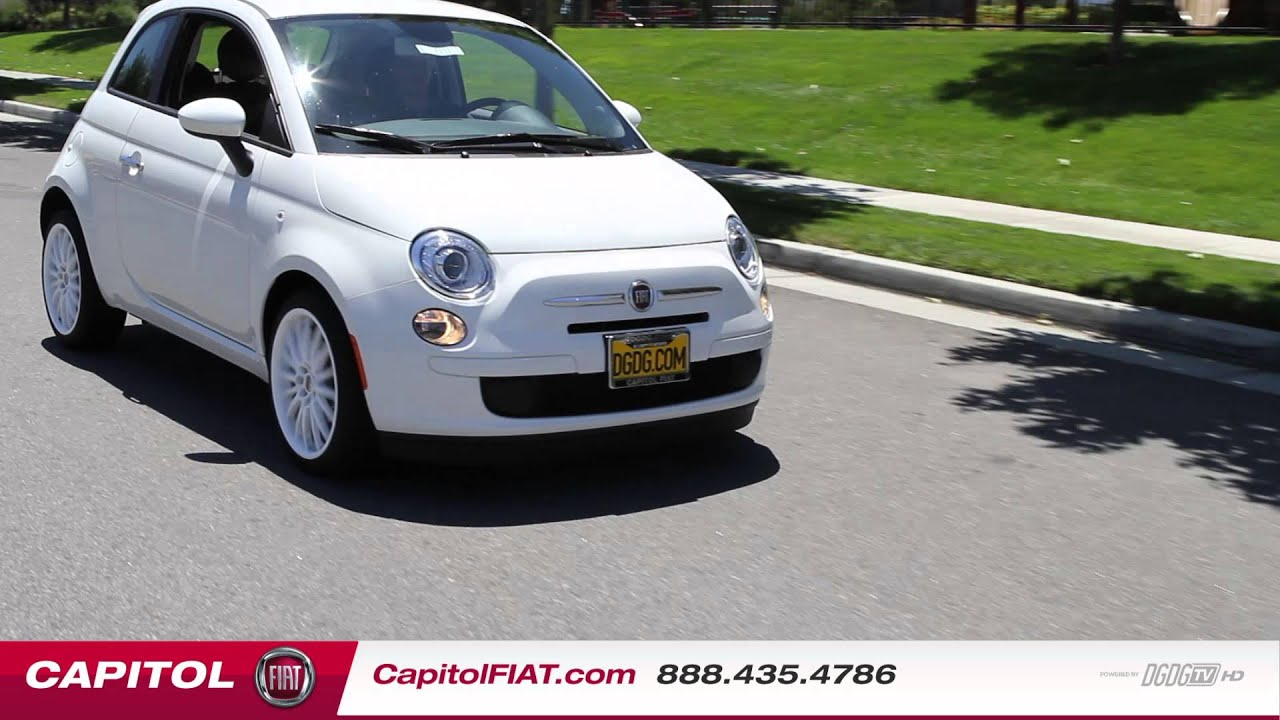 2013 fiat 500 pop in depth review and test drive   capitol fiat