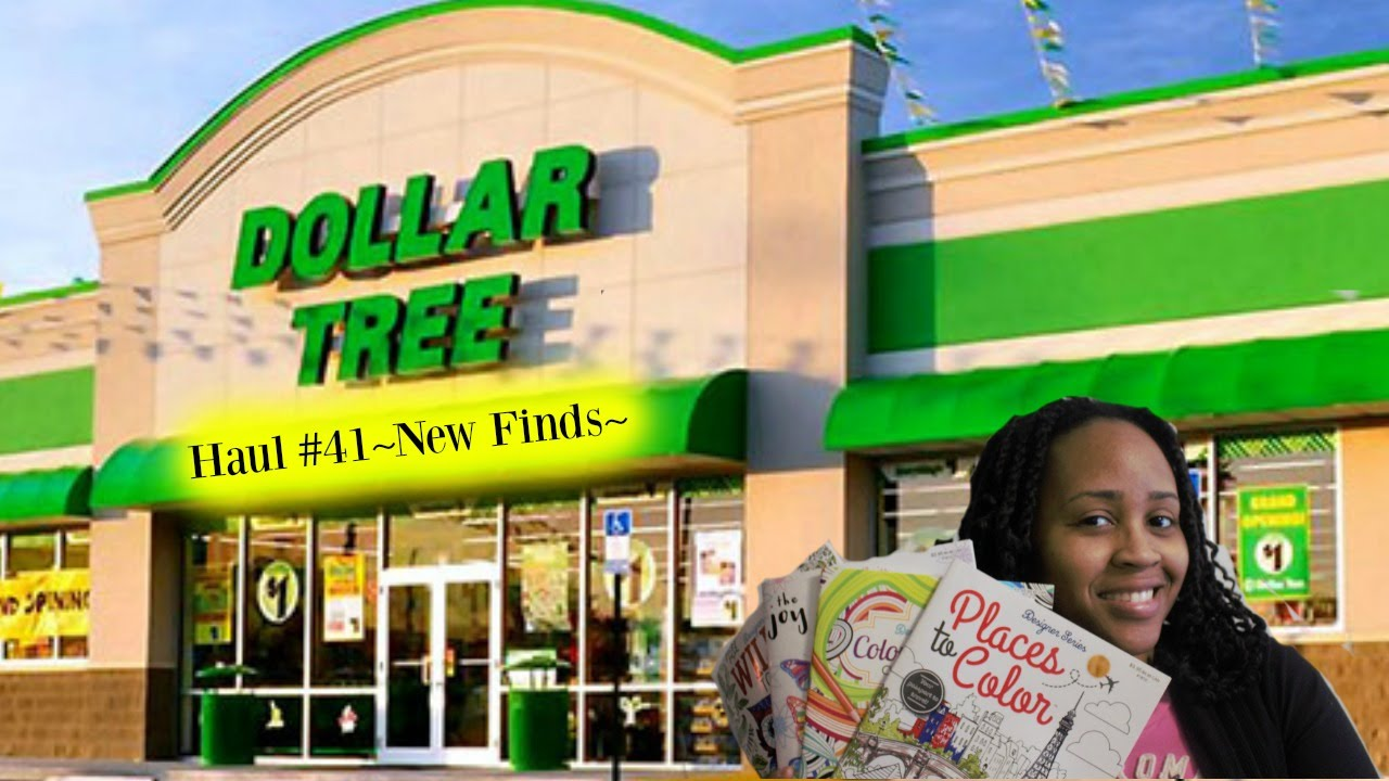 Dollar Tree Haul #41~New Coloring Book Finds~ - YouTube