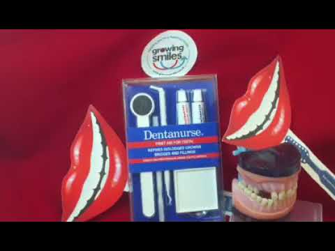 How to repair a broken tooth/filling until you get to the dentist - First aid kit for teeth