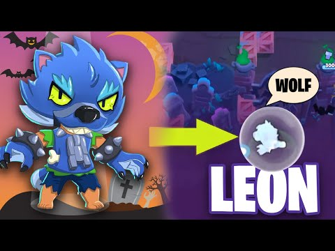 WEREWOLF LEON Brawl Stars Funny Moments & Fails & Glitches