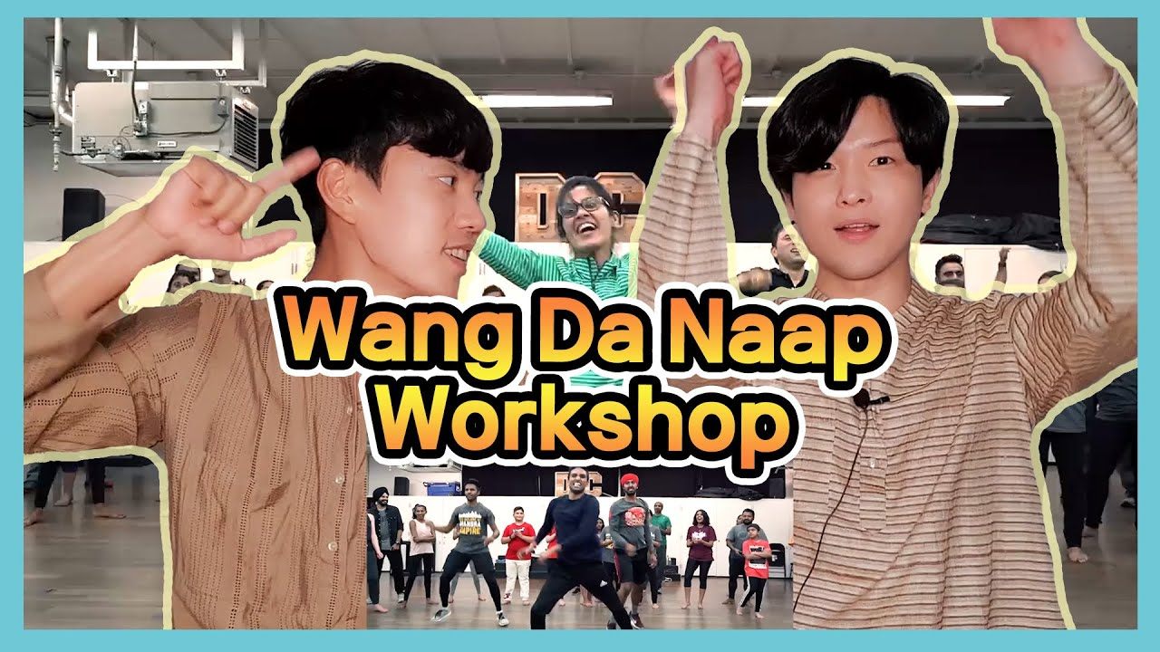 Korean Reacts to 【Wang Da Naap Workshop】   Ammy Virk   Bhangra Empire