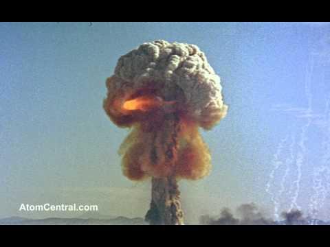 Atomic Bomb explosion - Close Up