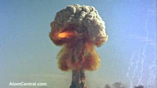 Atomic Bomb explosion - Close Up