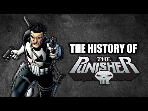 The History Of The Punisher - Superhero Spotlight