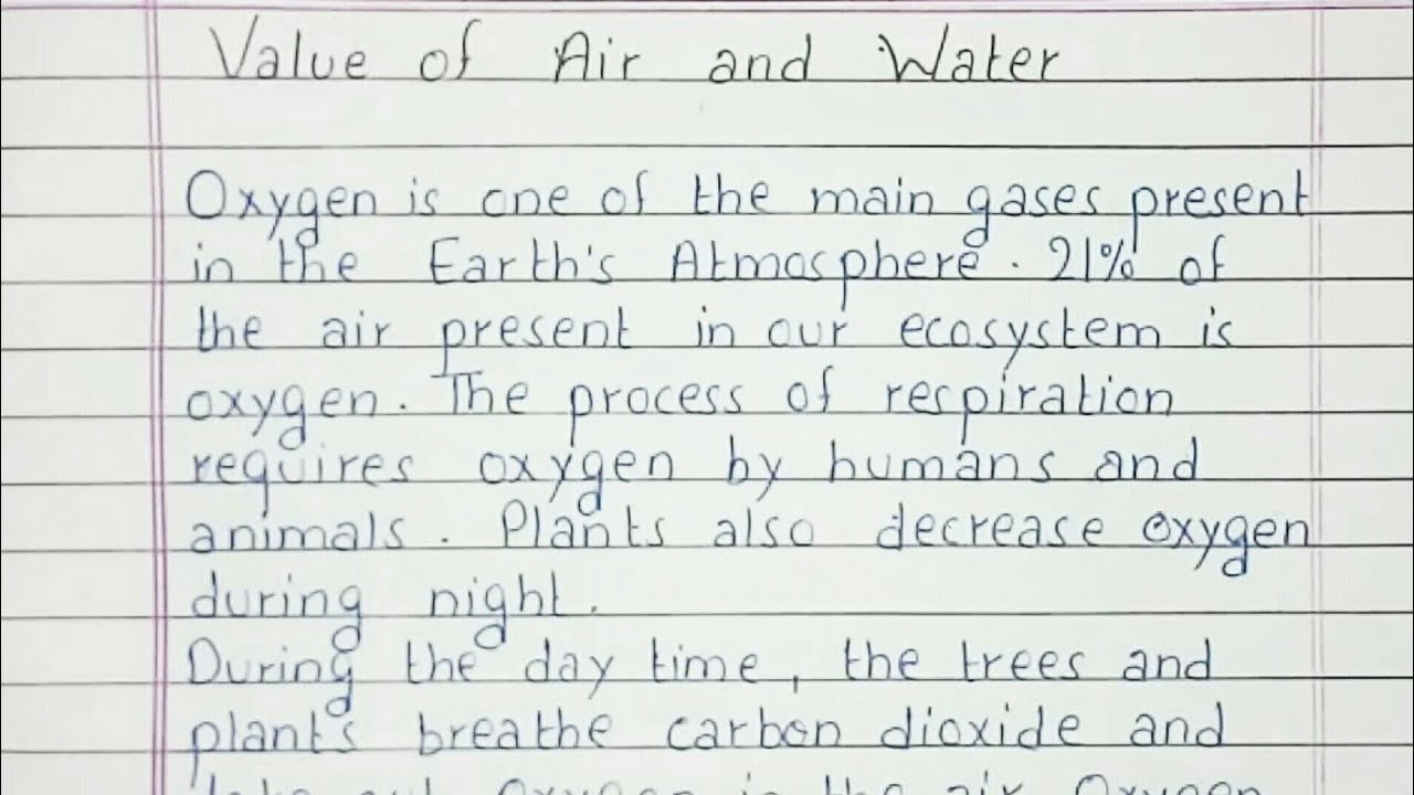 Water is life essay in english cook cover letter