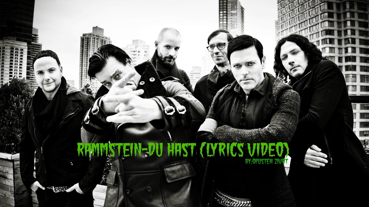 Rammstein - Du Hast (english Translation) Lyrics | …