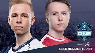 CS:GO - Team Liquid vs. mouz [Train] Map 2 - Group B Winners' Match - ESL One Belo Horizonte 2018