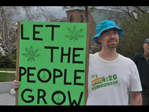 4/20: State Representatives Smoke Cannabis at NH State House with Crowd of 100+
