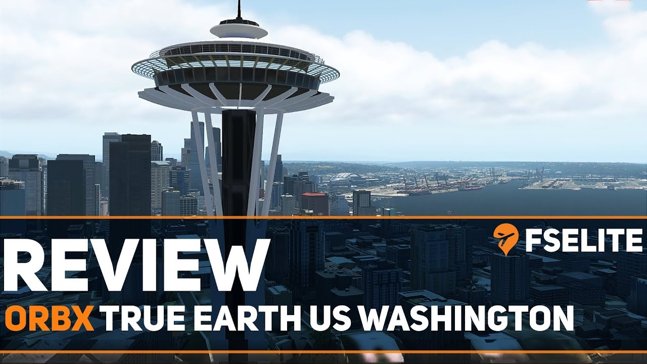 Orbx TrueEarth Washington For X-Plane 11: The FSElite Review