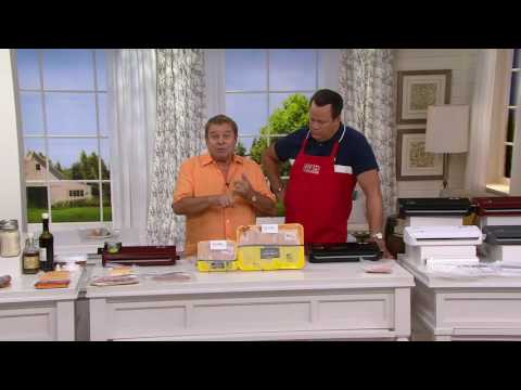 Foodsaver Compact Vacuum Sealer with Handheld Adapter on QVC