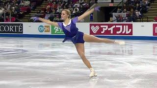 Серафима Саханович. Произвольная программа. Женщины. Skate Canada. Гран-при по фигурному катанию