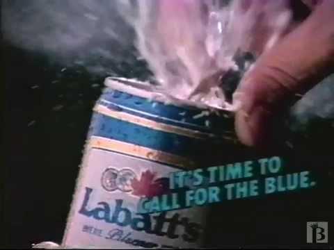 Labatt Blue Beer Commercial 1986
