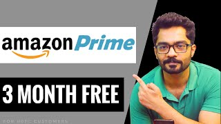 Amazon Prime Membership 3 Months Free Subscription Offer || How to get prime membership Free