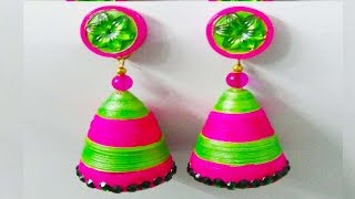 handmade paper jewellery | paper quilling earrings | quilling art designs